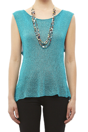DC KNITS Sleeveless Rayon Top - Side cropped