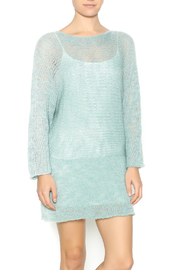 DC KNITS Aqua Sweater Dress - Product Mini Image