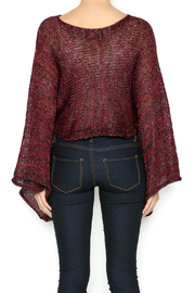 DC KNITS Metallic Sweater - Back cropped