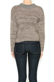 DC KNITS Tan Mohair Sweater - Back cropped