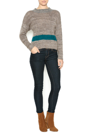 DC KNITS Tan Mohair Sweater - Front full body
