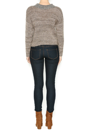 DC KNITS Tan Mohair Sweater - Side cropped