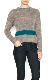 DC KNITS Tan Mohair Sweater - Product Mini Image