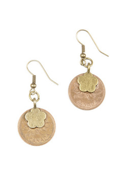 GinasOriginalAZ Coin Earrings - Product List Image