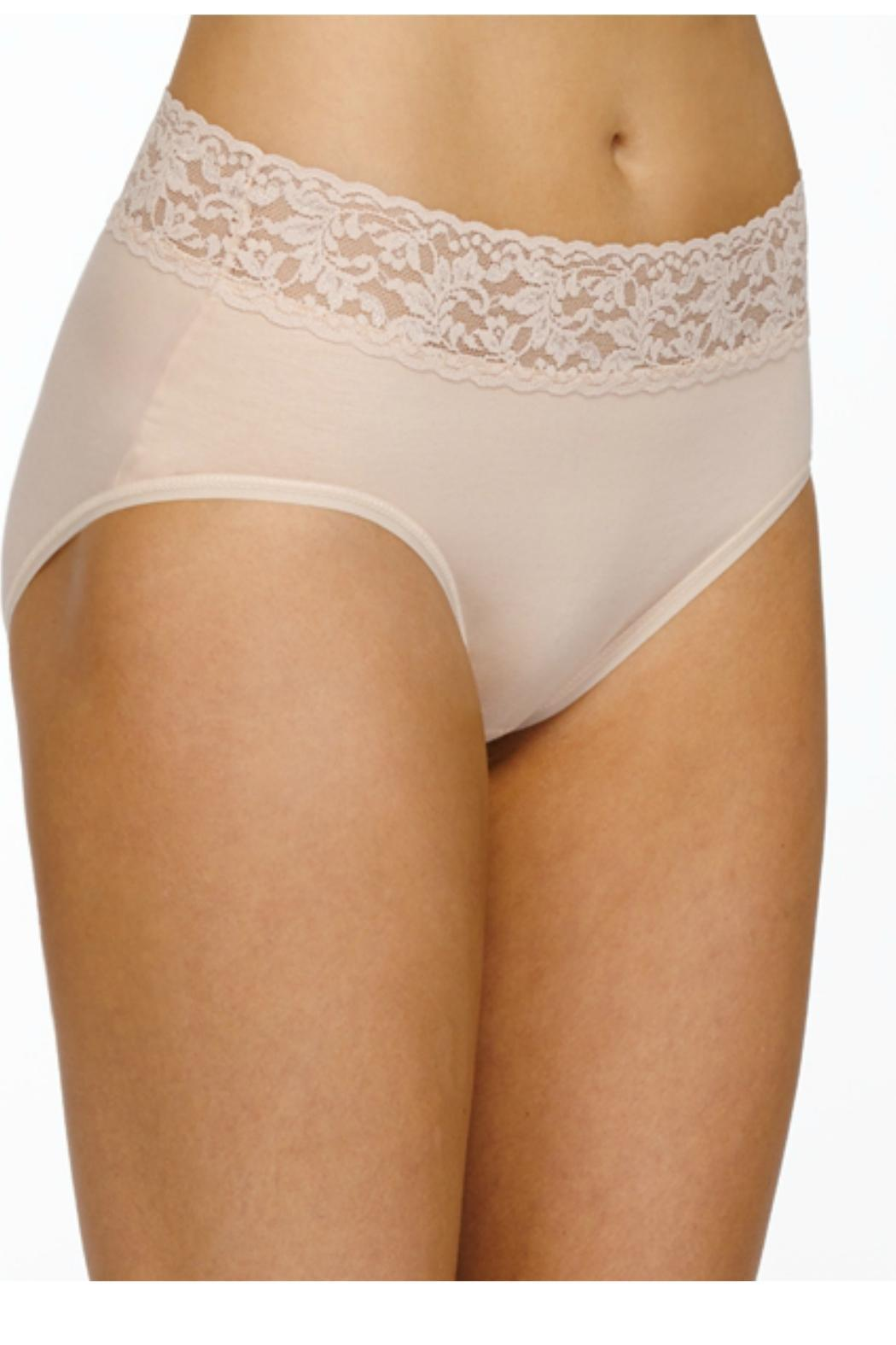 Hanky Panky Cotton French Brief - Front Cropped Image