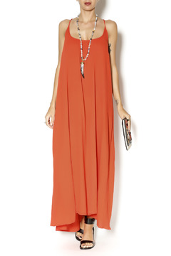 9Seed Coral Cotton Maxi Dress - Product List Image