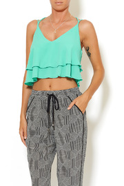 Tyche Mint Crop Top - Product Mini Image