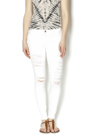 frame White Distressed Jean - Product Mini Image