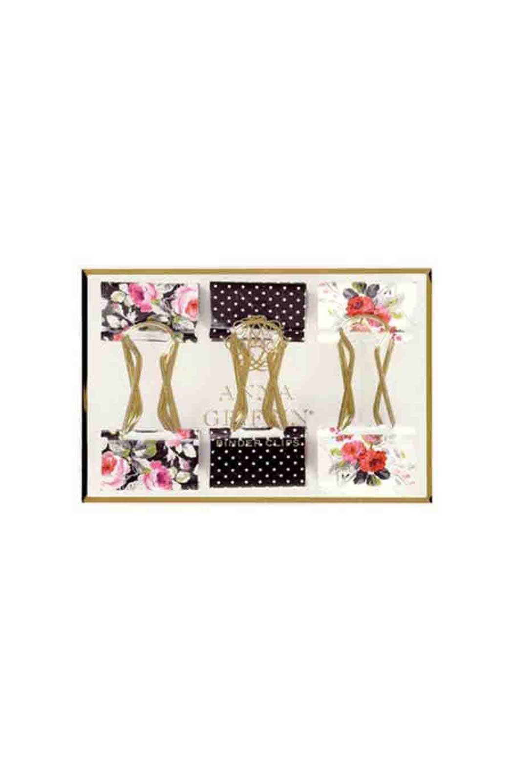 Anna Griffin Decorative Binder Clips - Main Image