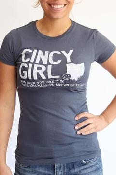 Great to Be Here Tees Cincy Girl Indigo - Product List Image