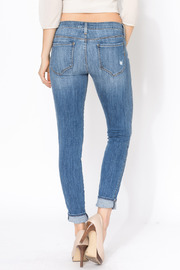 Shoptiques Product: Shya Torch Torn Skinny - Back cropped