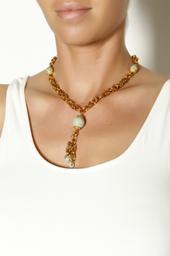 Shoptiques Product: Amazonite Chainmaille Set