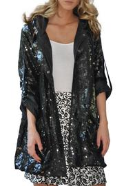 Gina Louise Sequins Glam Parka - Product Mini Image