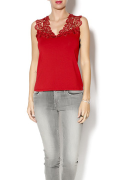 Shoptiques Product: Terri Red Cami