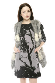 Shoptiques Product: Long Faux Fur Vest