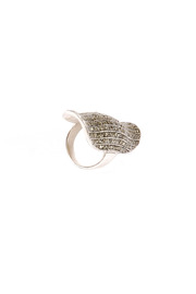 Shoptiques Product: Silver Phalanx Ring - Front full body