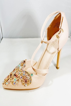 De Blossom Collection Jeweled Toe Shoe - Product List Image