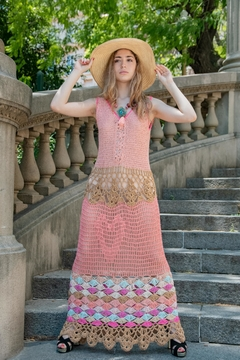 De Mil Amores Buenos Aires Bohemian Chic Dress - Product List Image