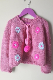 De Mil Amores Buenos Aires Cardigan Flowers - Front full body