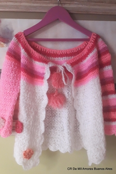 De Mil Amores Buenos Aires Cardigan Pink - Alternate List Image
