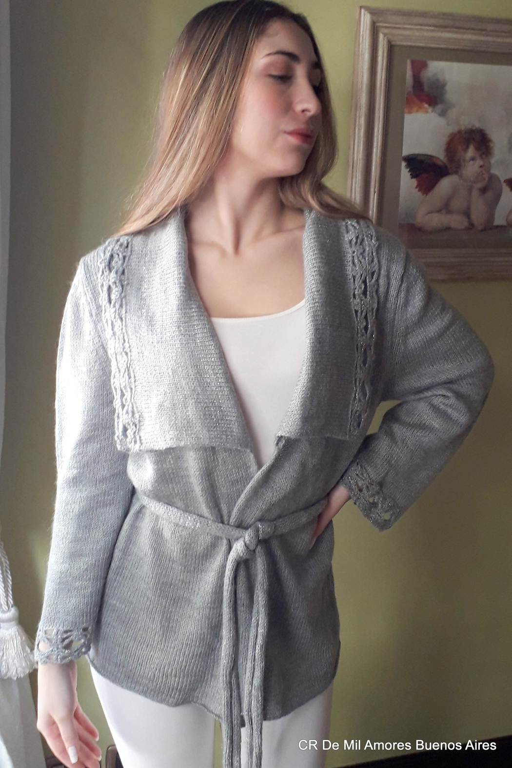 De Mil Amores Buenos Aires Coat Lux - Side Cropped Image