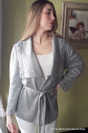 De Mil Amores Buenos Aires Coat Lux - Side cropped