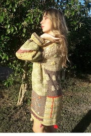 De Mil Amores Buenos Aires Crochet Cardigan Sixty - Product Mini Image
