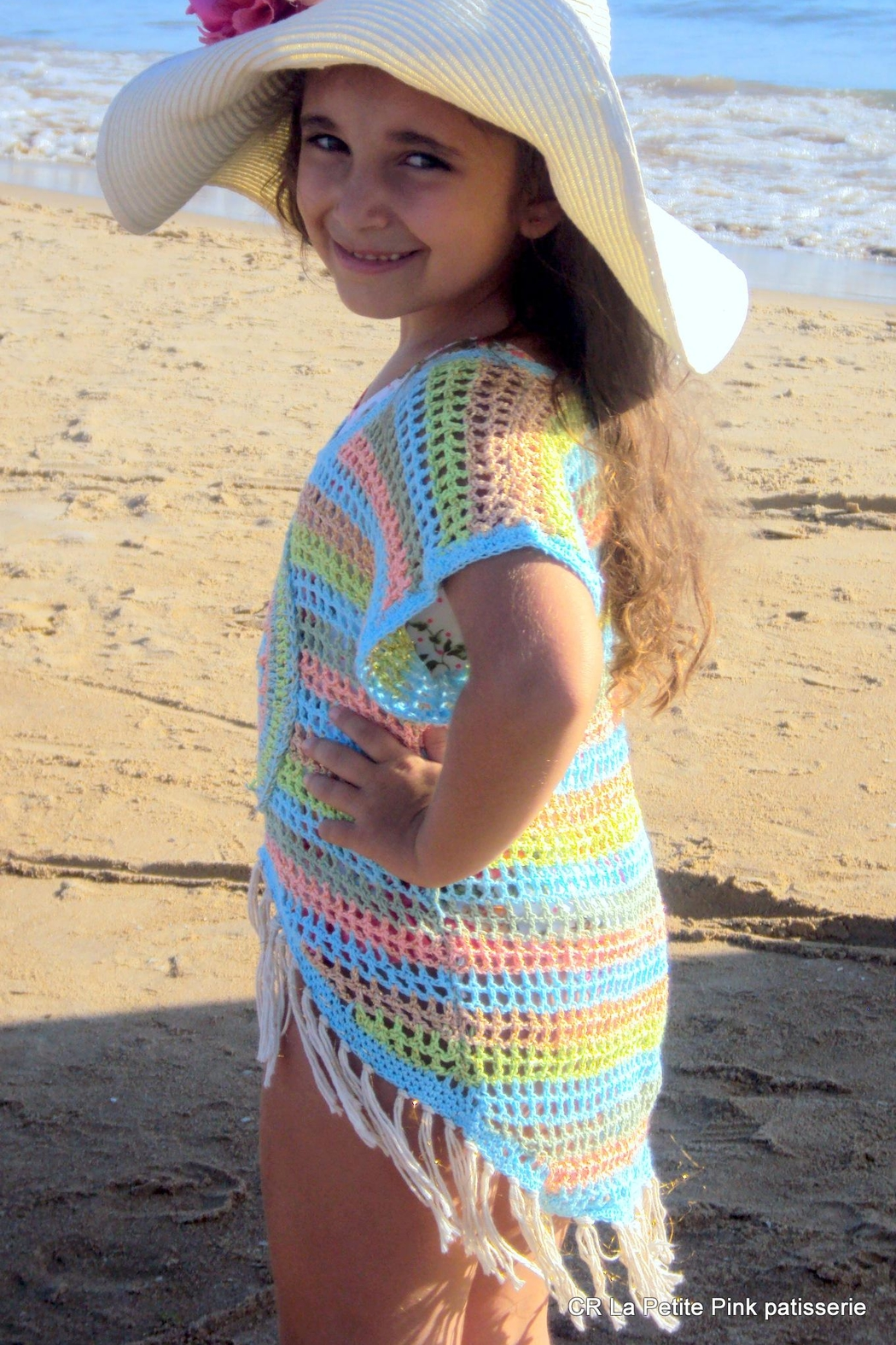 De Mil Amores Buenos Aires Crochet Boho Girls - Side Cropped Image