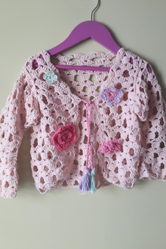 De Mil Amores Buenos Aires Flower Cardigan - Product List Image