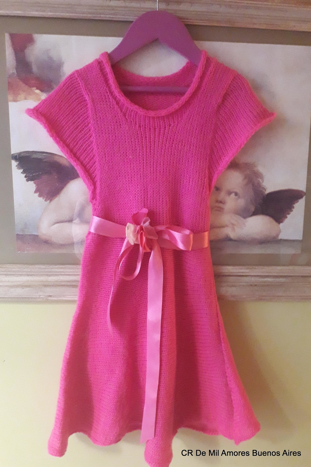 De Mil Amores Buenos Aires Girls Dress - Main Image