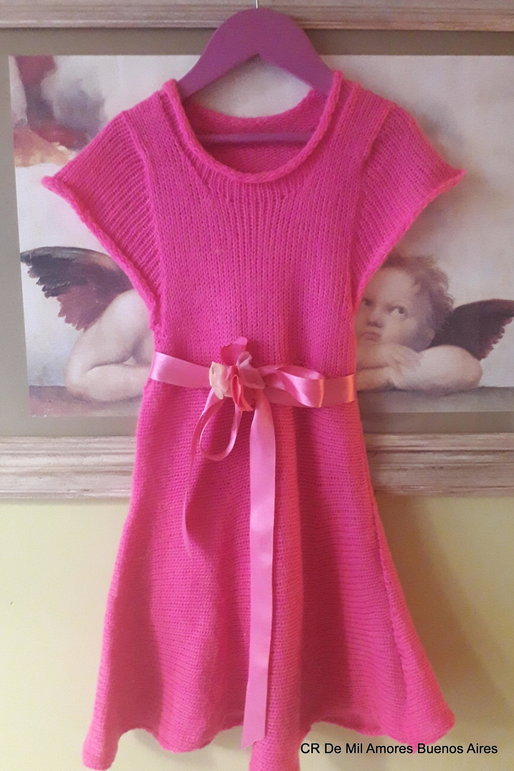 De Mil Amores Buenos Aires Girls Dress - Front Full Image