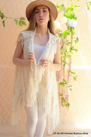 De Mil Amores Buenos Aires Poncho Fringe Loom - Product Mini Image