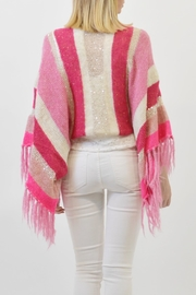 De Mil Amores Buenos Aires Poncho Marseille - Back cropped