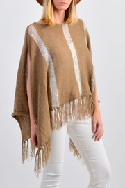 De Mil Amores Buenos Aires Pampa Poncho - Back cropped
