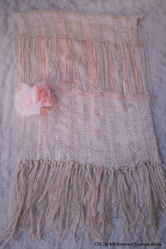 De Mil Amores Buenos Aires Scarf Nude  Gold - Alternate List Image