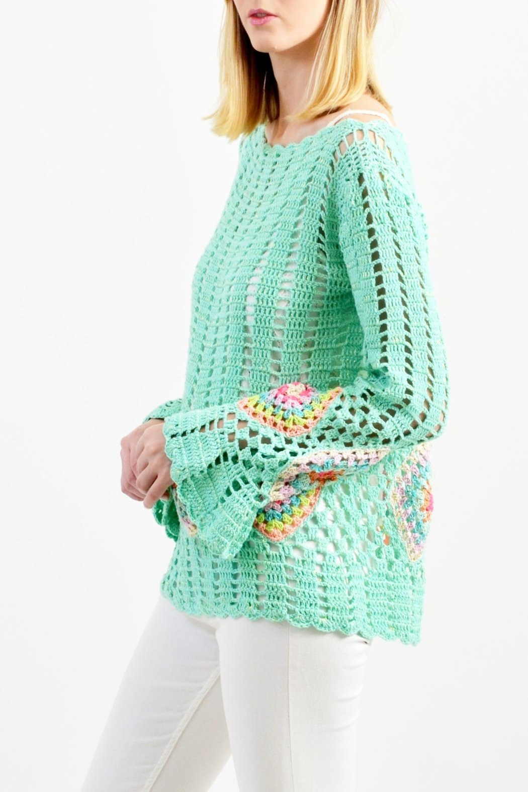 De Mil Amores Buenos Aires Antoinette Sweater - Front Full Image