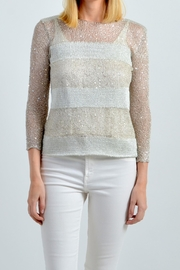 De Mil Amores Buenos Aires Capri Sweater - Front cropped