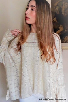 De Mil Amores Buenos Aires Sweater Poncho - Product List Image