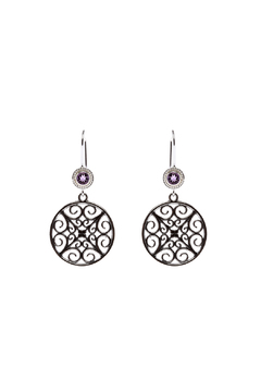 Shoptiques Product: Maze Design Earrings