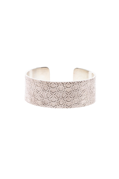 Shoptiques Product: Wide Silver Cuff