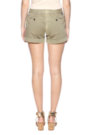 Dear John Denim Burly Wood Hampton Shorts - Back cropped