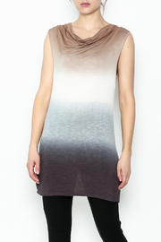 Dear John Dip Dyed Tunic - Front cropped