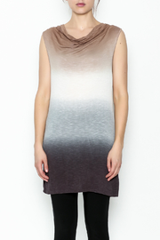 Dear John Dip Dyed Tunic - Front full body