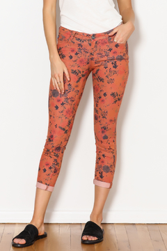 Dear John Floral Suki Cropped - Product List Image