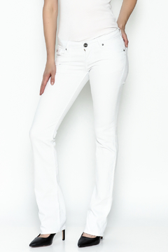 Dear John Runaway White Jeans - Product List Image