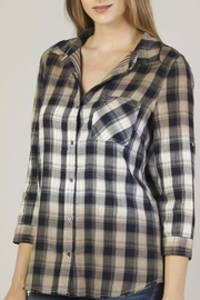 Dear John Dye-Dipped Plaid Shirt - Product Mini Image