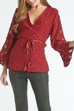 Dear John Rosalyn Wrap Blouse - Alternate List Image