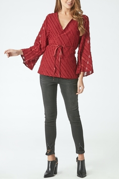 Dear John Rosalyn Wrap Blouse - Product List Image
