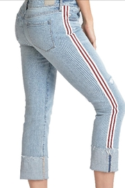 Dear John Side-Striped Cuff Jean - Product Mini Image