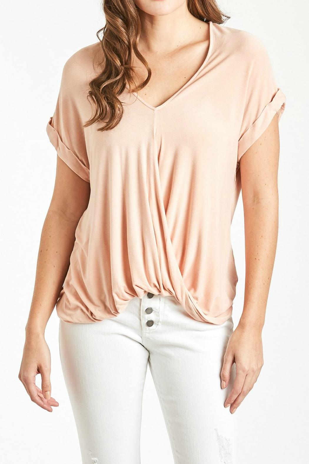 Dear John Soft Basic Top - Front Cropped Image